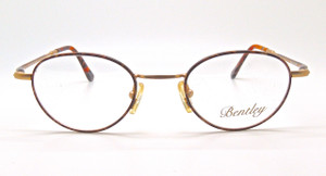 Bentley 62 Oval Panto style vintage glasses from The OLd GLasses SHop Ltd