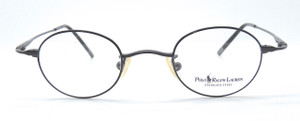 Polo Ralph Lauren Polo 445 Small Lens Eyewear Metal Frame In Gunmetal Finish
