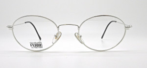 Gianfranco Ferre 409 Shiny Silver Oval metal Frames