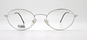 Gianfranco Ferre 409 Shiny Silver Oval metal Frames