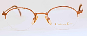 Christian Dior Half Rim prescription designer glasses from The OLd GLasses Shop Ltd