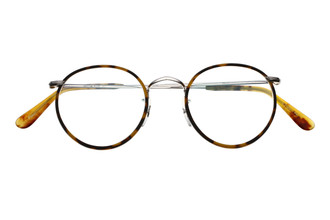 Savile Row Panto Glasses in Silver finish With Tortoiseshell colour Rims from The Old Glasses Shop Ltd