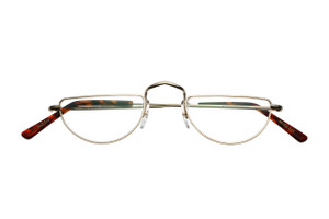 Savile Row hand made Half Eye Prescription Glasses From The Old Glasses Shop
