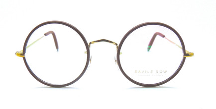 Gold Round Glasses
