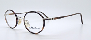 Vintage 455 Ralph Lauren Polo Silver Eyeglasses With Tortoiseshell Rims from www.theoldglassesshop.co.uk