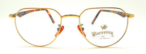 gold and tortoiseshell Italian frame