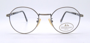 Willis and Geiger Outfitter 2 antique pewter vintage eyewear from The Old GLasses Shop Ltd