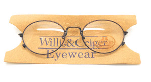 Vintage WILLIS & GEIGER Traveler 1 DB Prescription  Eye glasses 48mm lens