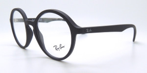 Matt Black Ray-Ban Frames from The Old Glasses Shop