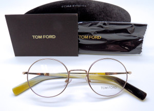 Tom Ford 5329 Round Style Retro glasses from www.theoldglassesshop.co.uk