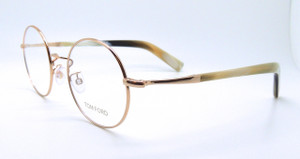 Superb Tom Ford TF5329 028 Round prescription glasses from www.theoldglassesshop.co.uk
