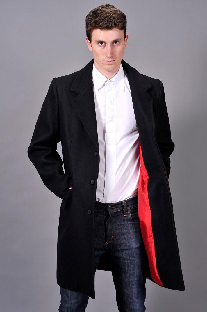 Crombie overcoat