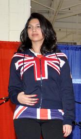 Women's Union Jack Hoodie