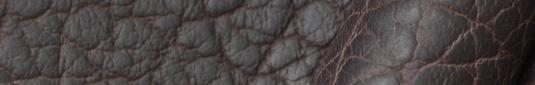 Mahogany buffalo leather hides and sides