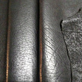 Santa Fe Black Special - Buffalo Leather Sides