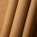 Ute sand (beige) American Buffalo leather (Bison leather) sides