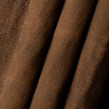 Navajo Mocha American Buffalo leather (Bison leather) sides