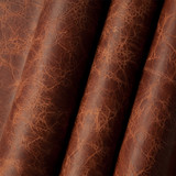 Antique Whiskey American Buffalo leather (Bison leather) sides