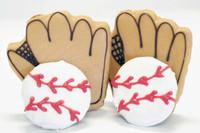 Baseball & Mitt -- 2 balls and 2 mitts