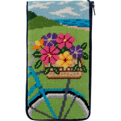 Springtime Ride Eyeglass Case