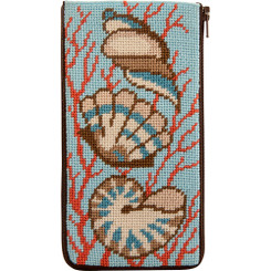 Shells & Coral Eyeglass Case
