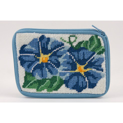 Morning Glories Coin Purse