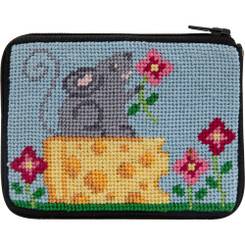 Mouse & Cheese Coin Purse