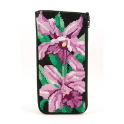 Orchid Eyeglass Case