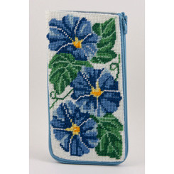 Morning Glories Eyeglass Case