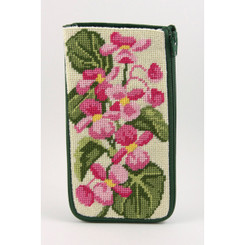 Begonias Eyeglass Case