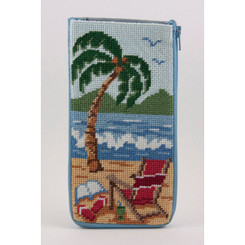 At the Beach Eyeglass Case