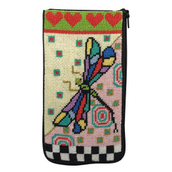 Dragonfly Eyeglass Case