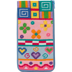 Patchwork Eyeglass Case