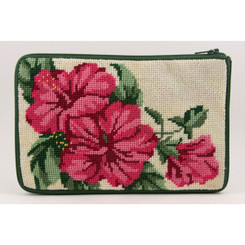 Hibiscus Purse