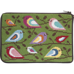 Birds of Color Purse
