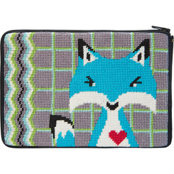 Blue Fox Purse