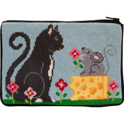 Cat & Mouse Purse