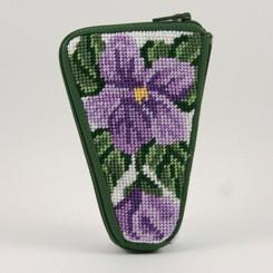 Sweet Violets Scissor Case