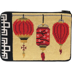 Chinese Lanterns Purse