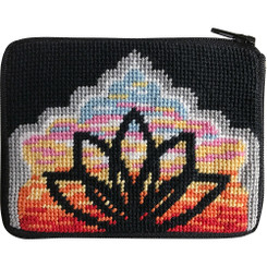 Yoga Lotus Coin Purse