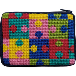Puzzle Pieces Kids Coin Purse
