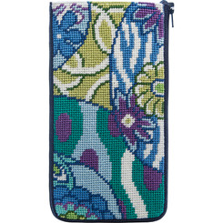 Imari Abstract Eyeglass Case