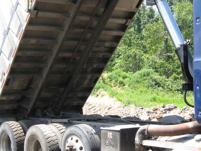 2005 Mack Tri Axle Dump Truck