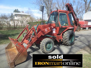 Case 580 Super E 4x4 Backhoe Loader