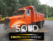 2006 Peterbilt 335 Tandem Axle Dump Truck used for sale