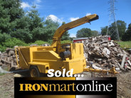 vermeer BC wood chipper for sale