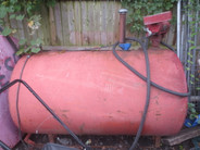 250 Gallon Portable Fuel Tank used for sale