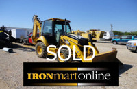 2008 Caterpillar 420E Loader Backhoe used for sale