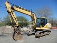 Komatsu PC160LC-7KA Excavator used for sale