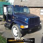 1999 International 4700 Single Axle Flatbed Truck